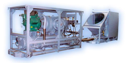 Машина для охлаждения воздуха КПШ 130-2-0